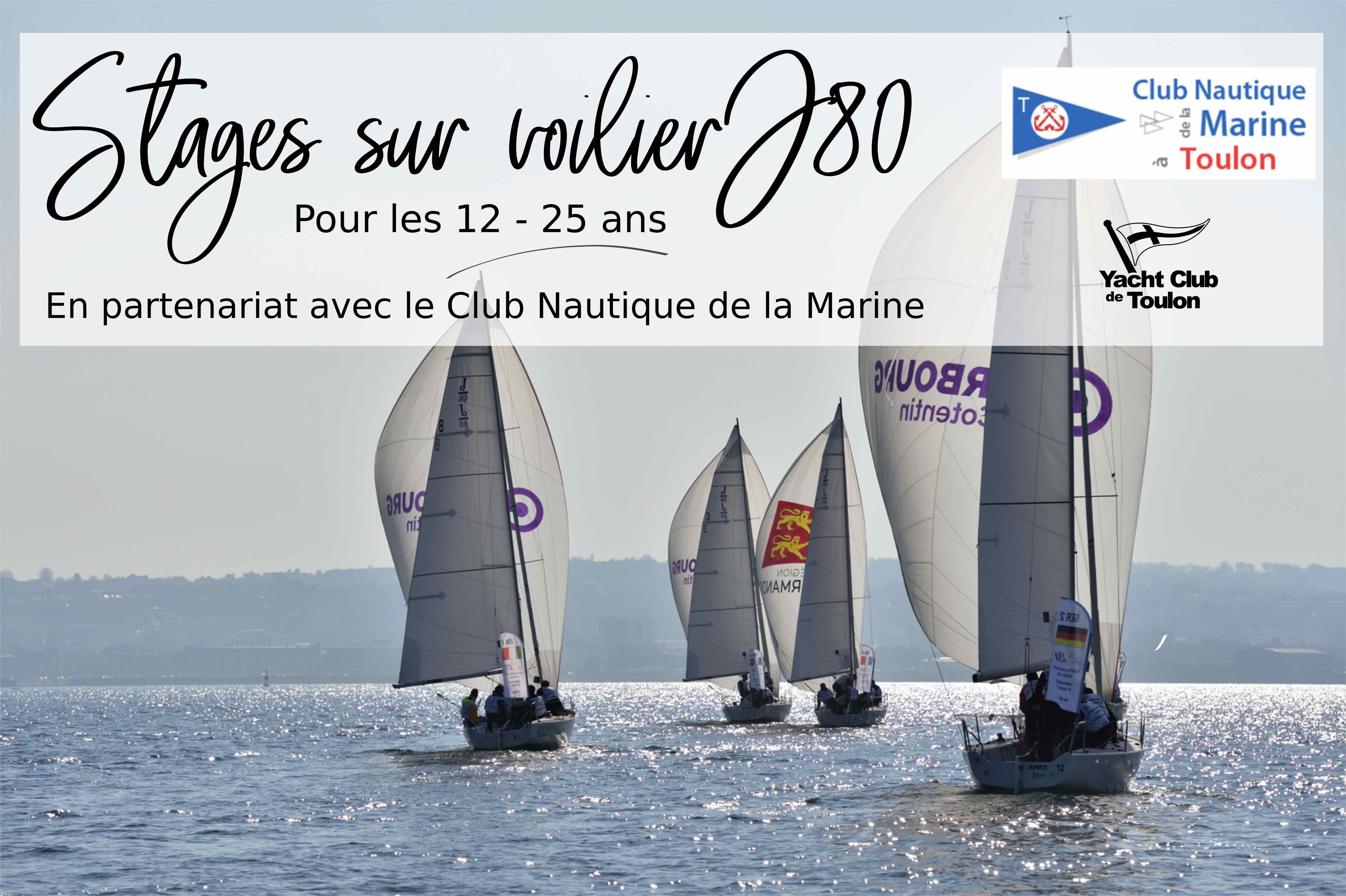 Stage Sur Voilier J 80 Stage Decouverte Voilier J80 Yacht Club De Toulon